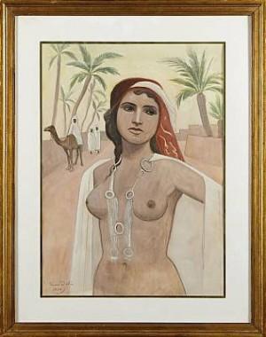 Orientalisk Kvinna by Einar JOLIN