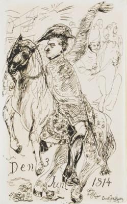 Den 3 Juni 1814 - Kronprins Karl Johan by Ernst JOSEPHSON