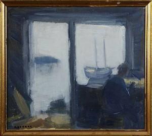Fiskaren I Sin Bod by Gustav RUDBERG