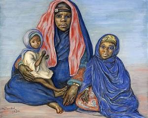 Mor Och Barn by Nils Von DARDEL