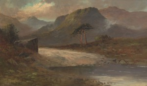 Pass Near Dunkeld by Francis E JAMIESON