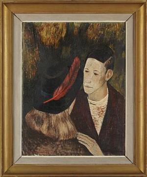 Den Röda Fjädern by Rune HAGMAN