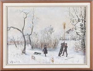 Vintermotiv by Lotten RÖNQUIST