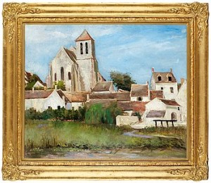 Kyrkan I Montigny by Carl Fredrik HILL