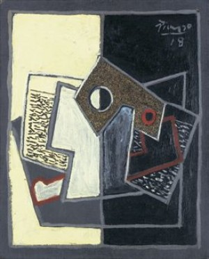 Pipe Et Verre by Pablo PICASSO