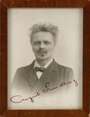 Signerat Fotografi Av Strindberg by August STRINDBERG