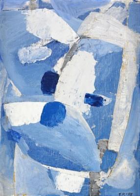 Abstrakt Komposition by Torsten RENQVIST