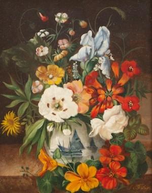 Floral Still Life by Franz Xaver PIELER
