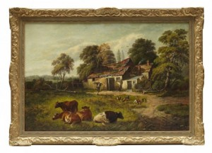 Farm Buildings Broms Green Hamstead by William P. CARTWRIGHT