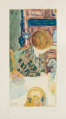 La Femme Au Chien by Pierre BONNARD