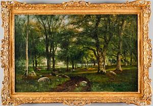Skogen Fontainbleue by Johan ERICSON