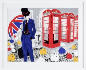 Savile Row by Richard RYAN