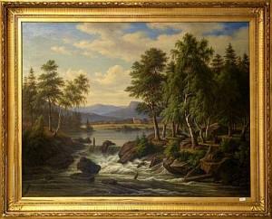 Klarälven Värmland by Frederik Christian KIAERSKOU