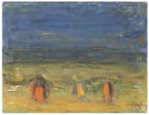 På Fältet (oväder) by Carl KYLBERG