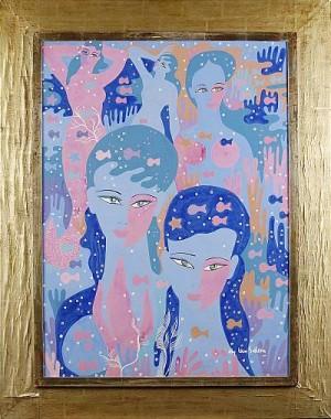 Kvinnofigurer by Aly Ben SALEM