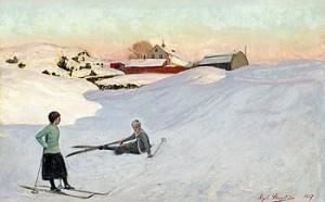 Skidtur by Algot RINGSTRÖM