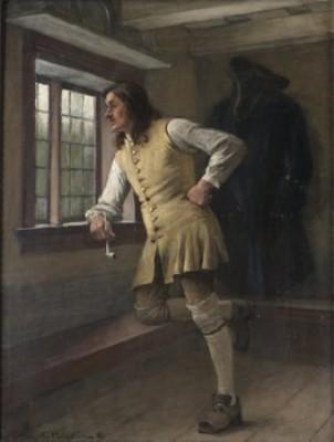 Väntande Karolin by Gustaf CEDERSTRÖM
