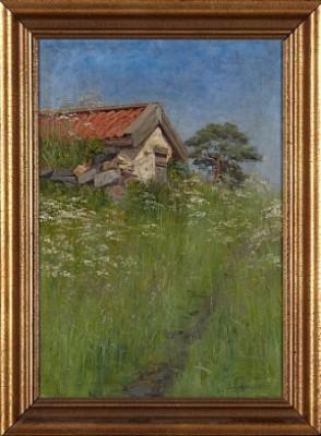 Uthus I Sommargrönska by Fanny HJELM