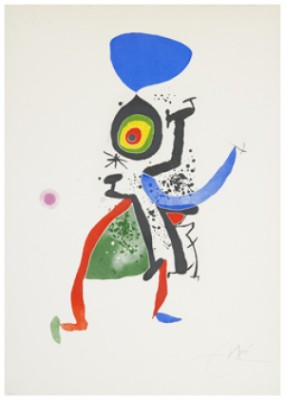 Salvat Papasseit by Joan MIRO