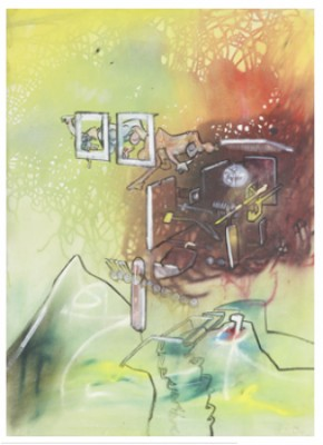 Komposition by Roberto MATTA