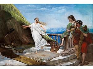 Antike Tanzszene by Simeon SOLOMON