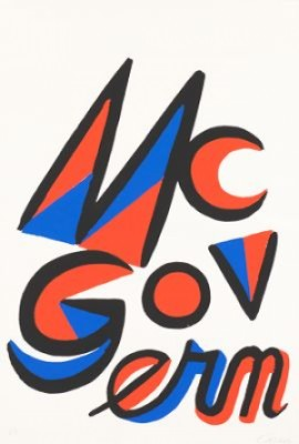 Mcgovern For Mcgovernment by Alexander CALDER