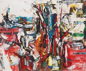 Lances by Jean-Paul RIOPELLE