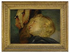 Maria Magdalena Sörjande Vid Korset by Peter Paul RUBENS