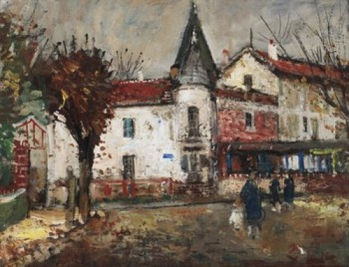 Vy Med Kyrktorn by Francois GALL