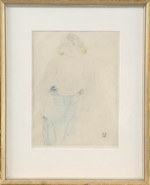 Kvinnostudie by Auguste RODIN