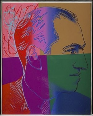 George Gershwin by Andy WARHOL
