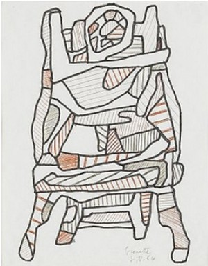 Brouette by Jean DUBUFFET