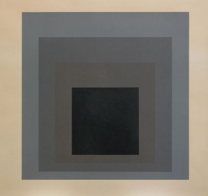 Day + Night V by Josef ALBERS