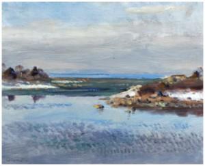Landskap Med Vattendrag by Lindorm LILJEFORS