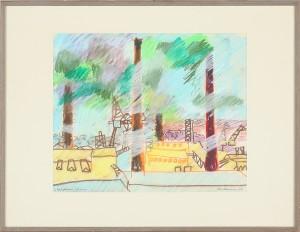 Liljeholmens Stearinfabrik by Stig 'Slas' CLAESSON