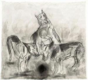 Wolfs by Nino LONGOBARDI