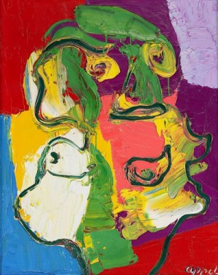 Buste De Femme by Karel APPEL