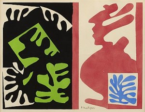Composition by Henri MATISSE