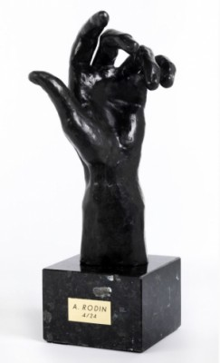 Die Linke Hand Des Pierre Wiessant by Auguste RODIN