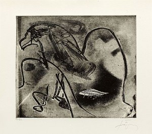 Minor Vii by Antoni TAPIES