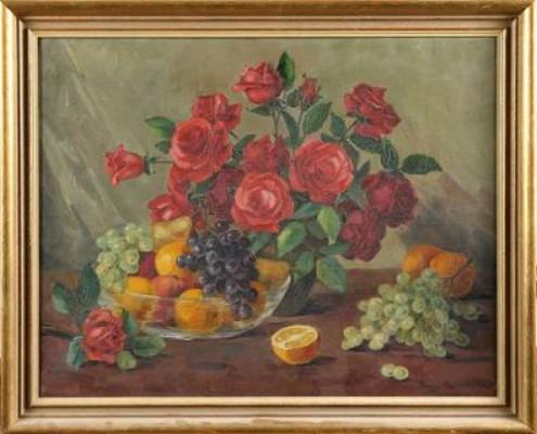Stilleben Med Frukter Och Grönsaker by Karin KARLSSON