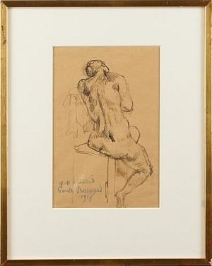Modellakt by Emile Henri BERNARD