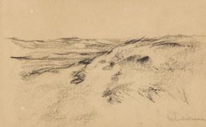 Dünenlandschaft (studie Zu