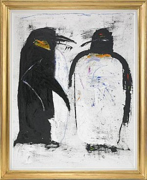 Pingviner by Madelaine 'M Pyk' PYK