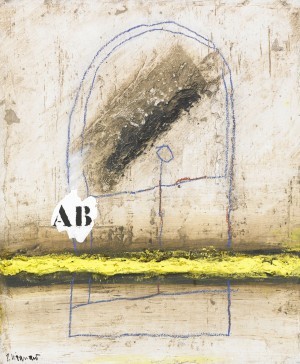 Tension Jaune En Ab by James COIGNARD