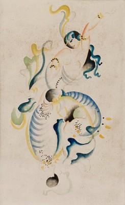 Orientalisk Danserska by Gösta 'Gan' ADRIAN-NILSSON