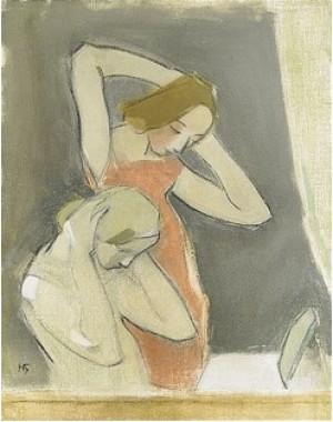 Framför Spegeln by Helene SCHJERFBECK