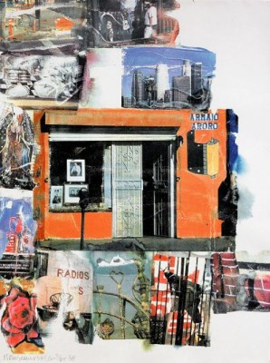 L. A. Uncovered #12 by Robert RAUSCHENBERG