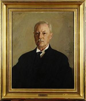 Porträtt Av Axel Carlander by David TÄGTSTRÖM