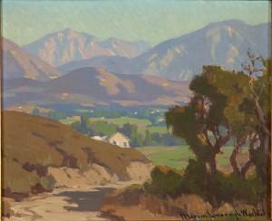 San Gabriel Mountains, View From Flintridge by Marion Kavanagh WACHTEL